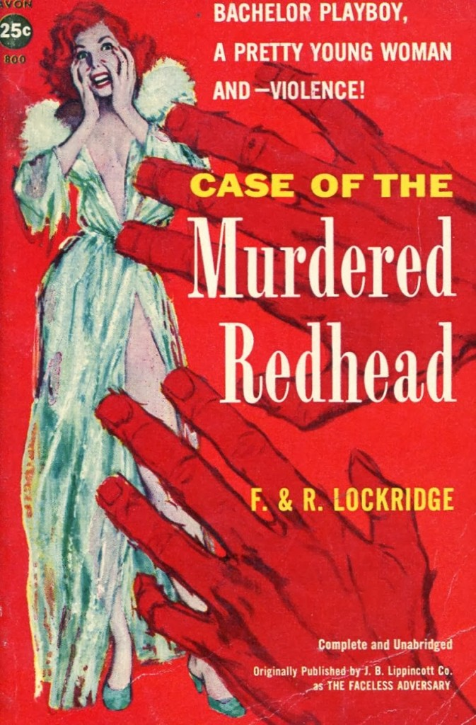 Case of the Murdered Redhead, 1958.2