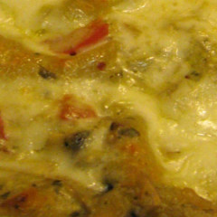 Creamy Pesto Lasagna with Artichoke Hearts