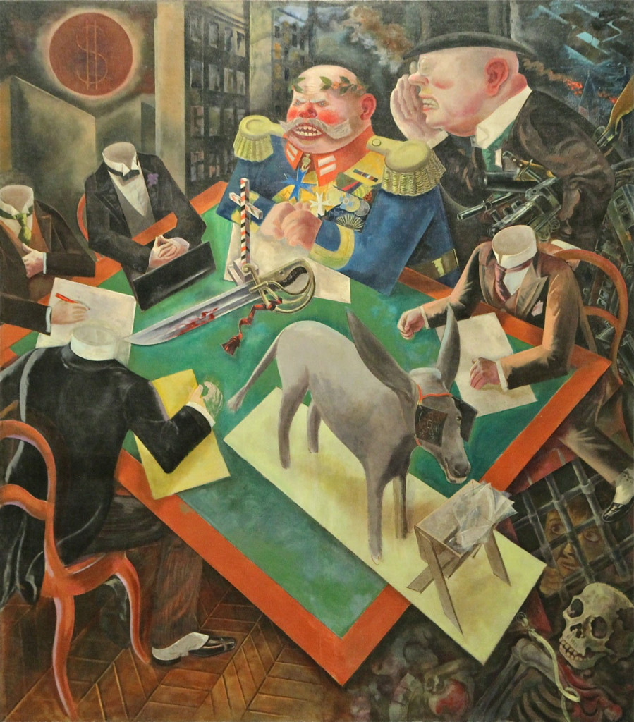 George Grosz The Eclipse of the Sun 1926 Oil on canvas 207.3 x 182.6 cm The Heckscher Museum of Art, Huntingdon, New York