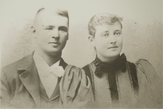 Lucretia and Great Grandpa HH Mifflin