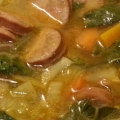 Our Low Fat Hot and Sour Soup