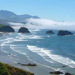 The Oregon Coast:  Bandon by the Sea