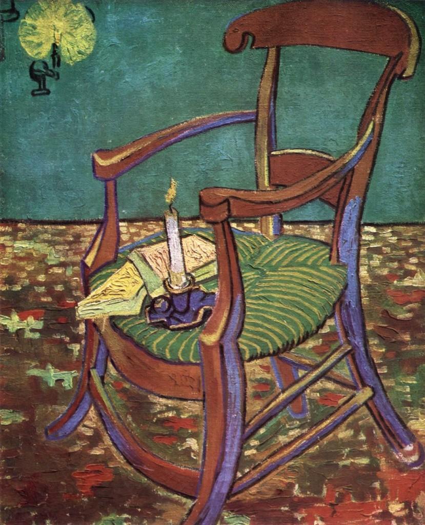 Gauguin's Armchair Arles: December, 1888 (Amsterdam, Van Gogh Museum)