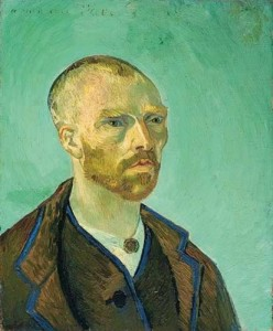Self-Portrait Dedicated to Paul Gauguin (Bonze), 1888. Oil on canvas. 62 x 52 cm