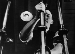 night-mail-1936-001-man-and-handles-shot-low-angle