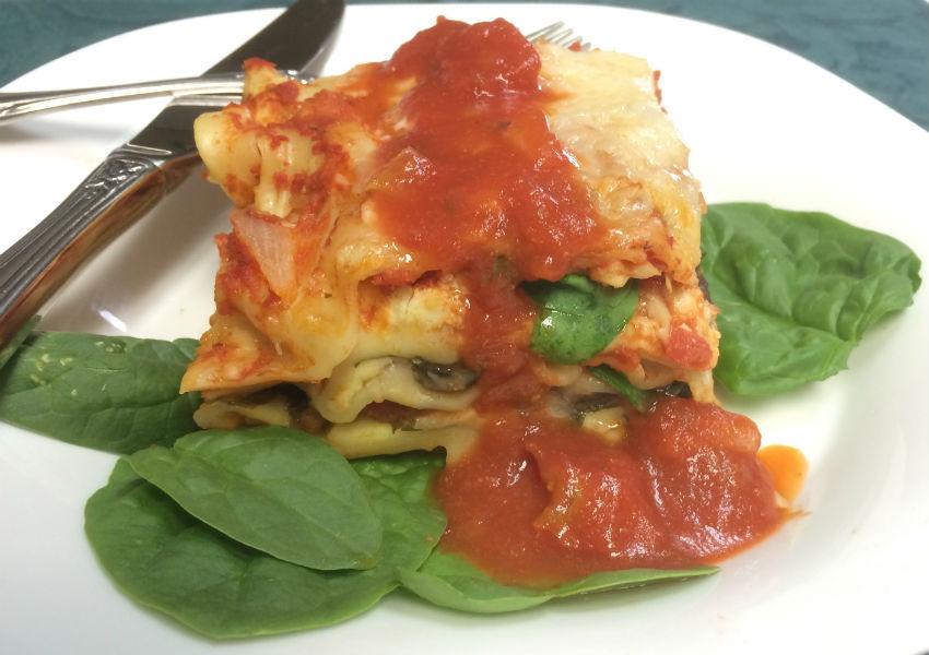 spinach lasagne sm