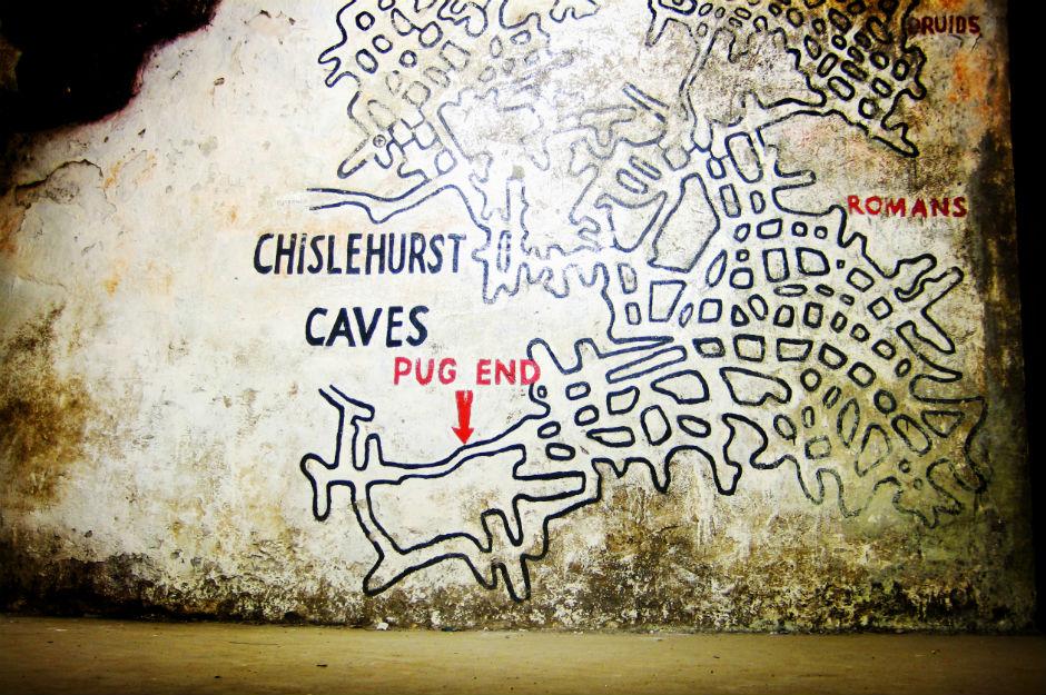 Chislehurst-caves-map