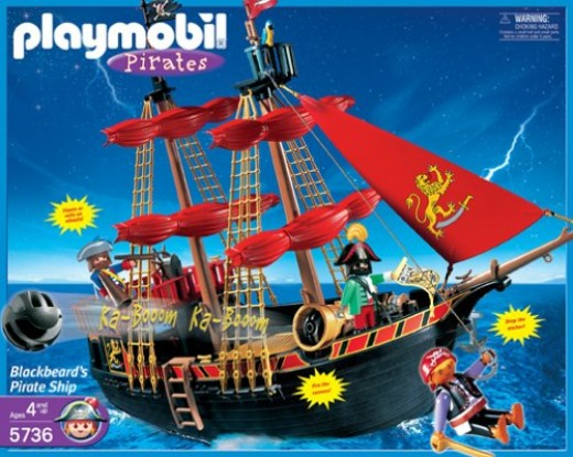 Why I Love Our Playmobil Pirate Ship