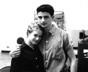 Songwriting team Gerry Goffin and Carol King, 1959.
