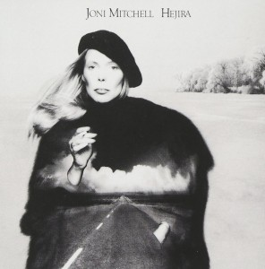 Joni Mitchell - Hejira album cover. Click for more / to buy.