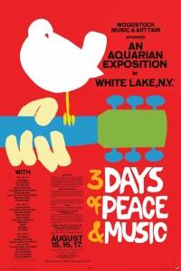 Woodstock Poster.