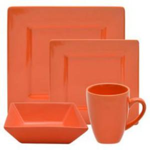 Ten-Strawberry-Street-Nova-16-Piece-Square-Dinnerware-Set-in-Orange-NOVA-16SQ-ORNG