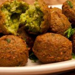 No-Fry Falafel: Grand Prix Gourmet, Abu Dhabi