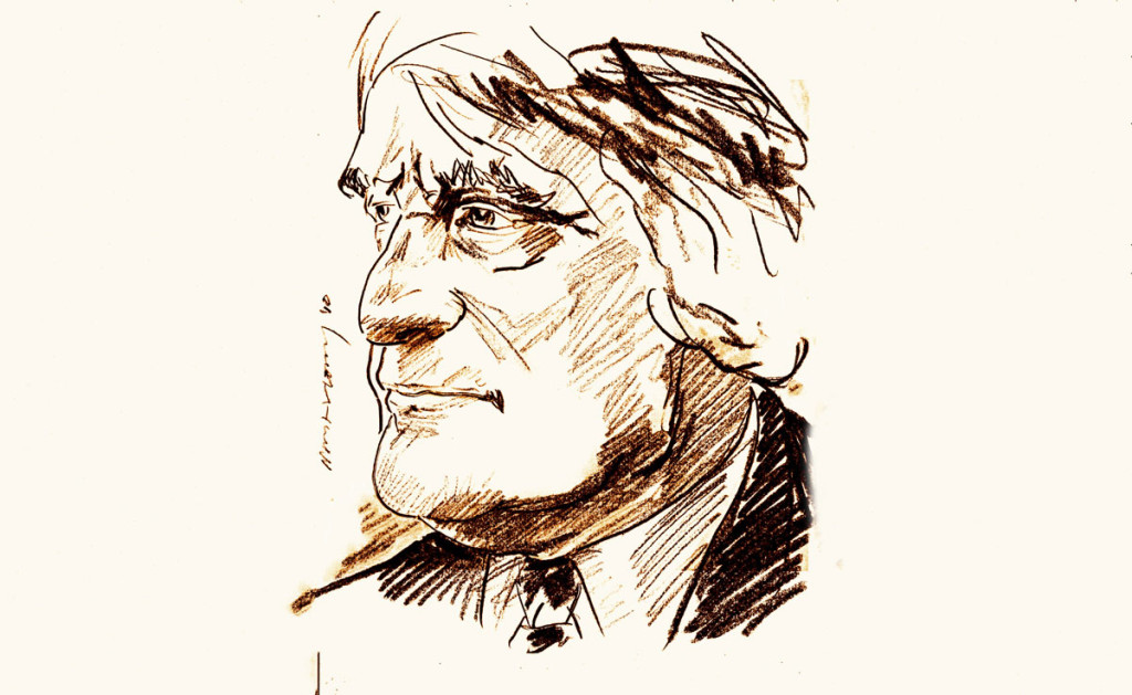Ted Hughes by N.C. Mallory / Flickr