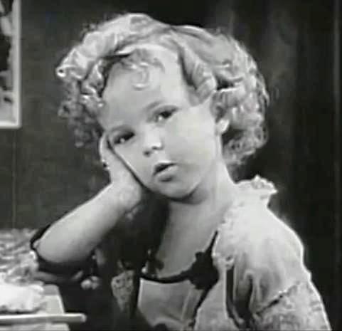 Shirley Temple 1930 via wikimedia commons