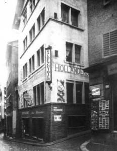 The Holländische Meierei at Spiegelgasse 1, Zurich