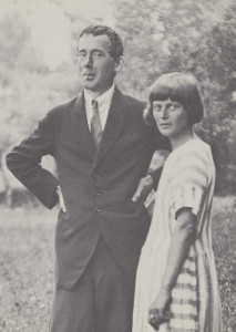 Hugo Ball and Emmy Hennings Ball in 1918