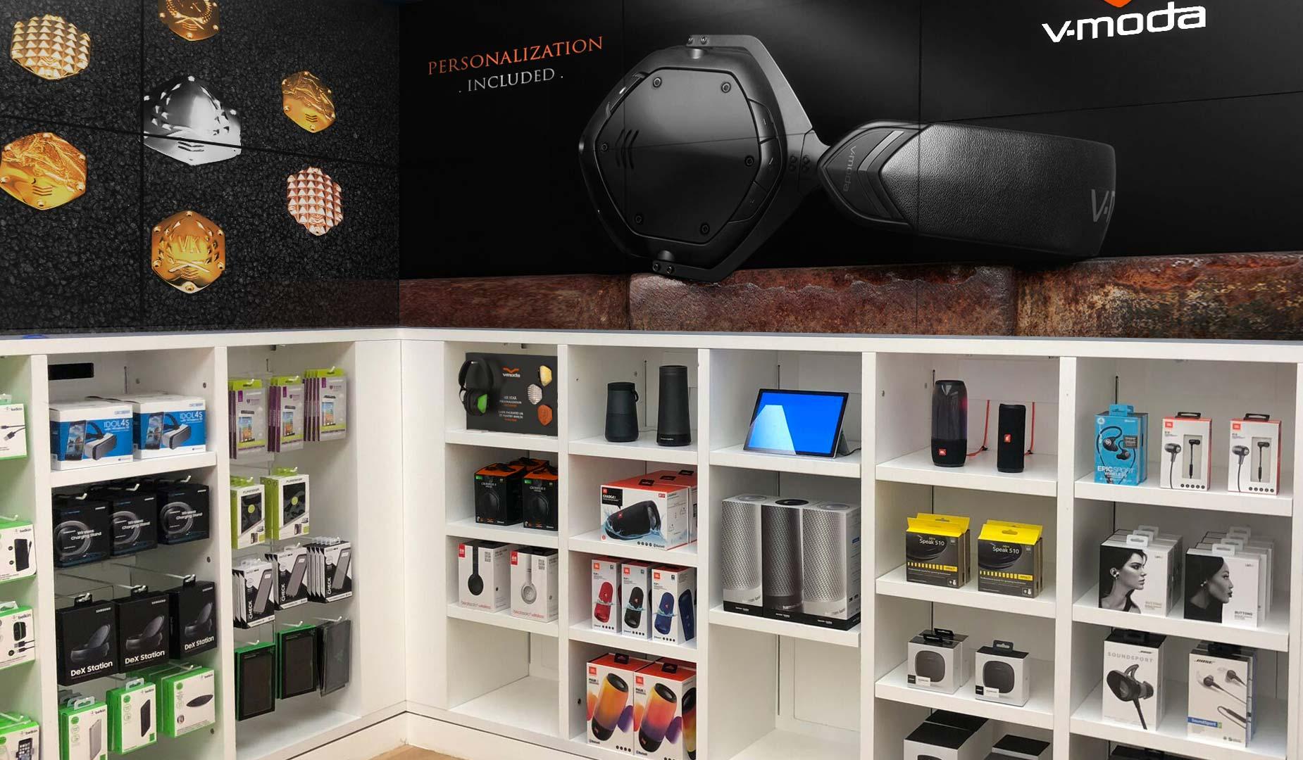 Microsoft Store Product Display Area Design