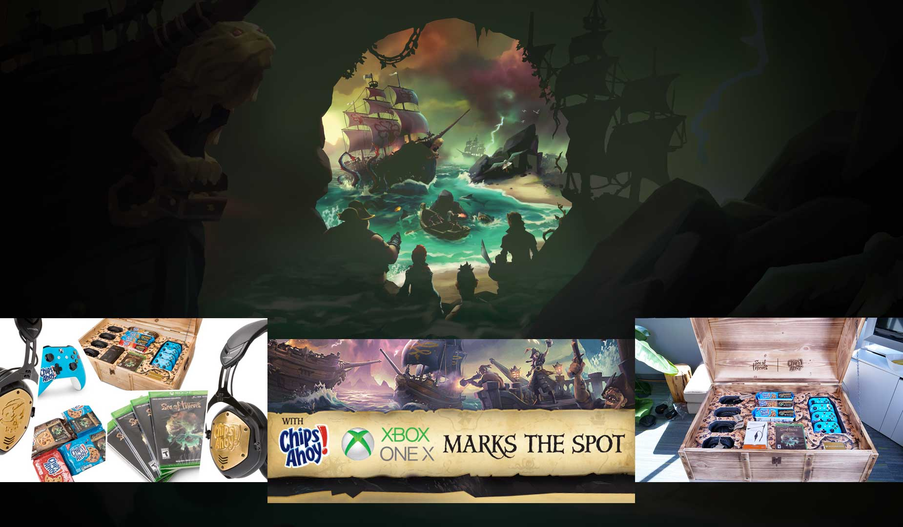 XBOX Chips Ahoy Sea of Thieves Campaign
