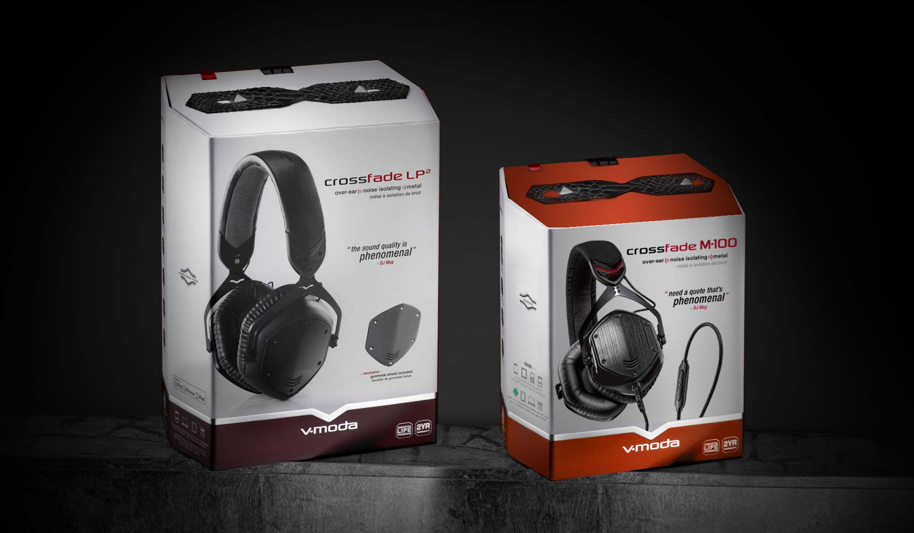 Crossfade M-100 Package Comparison