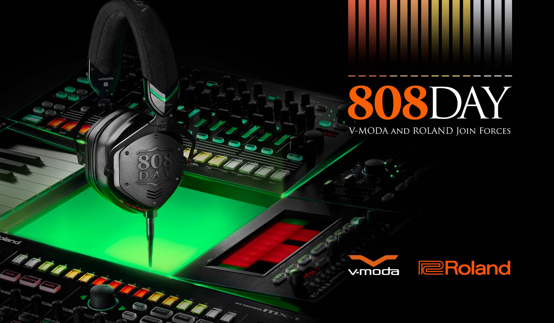 V-MODA and Roland Join Forces