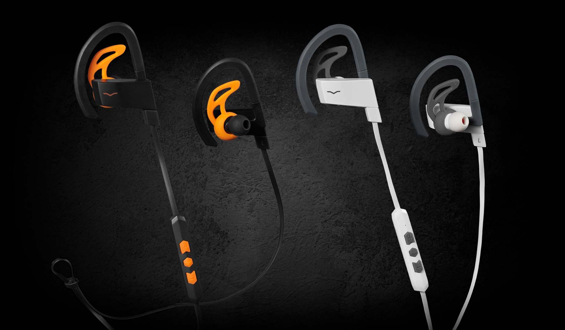 Sport Headphone Colors Floating