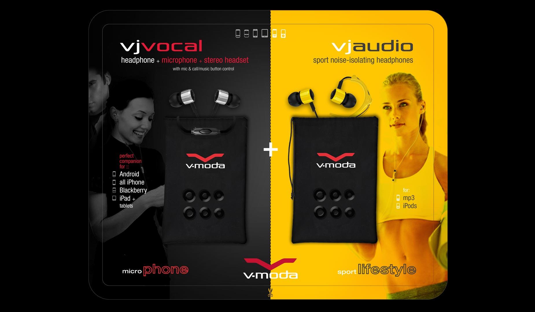 Costco V-MODA VJ Packaging