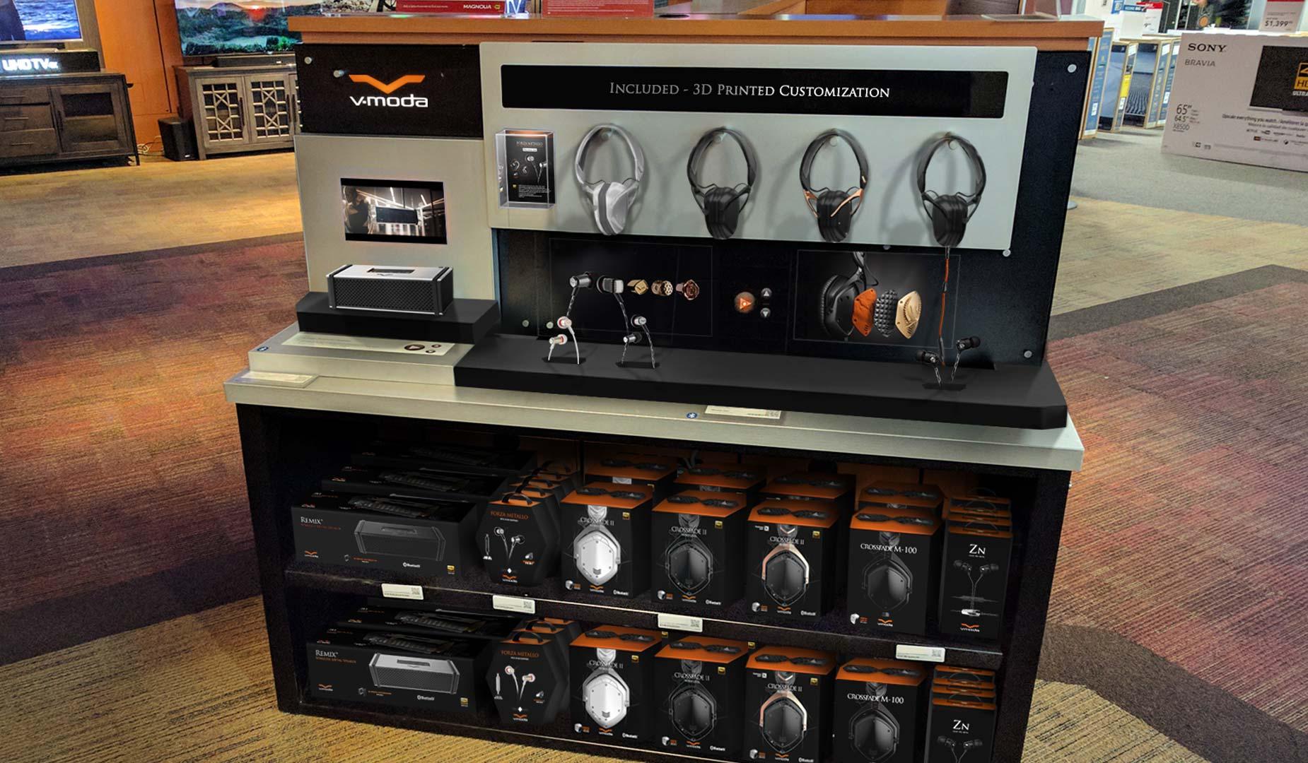 Magnolia Headphone Listening Station