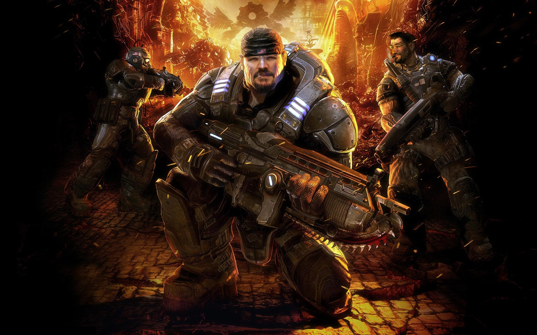 Bucknall Bros Gears of War