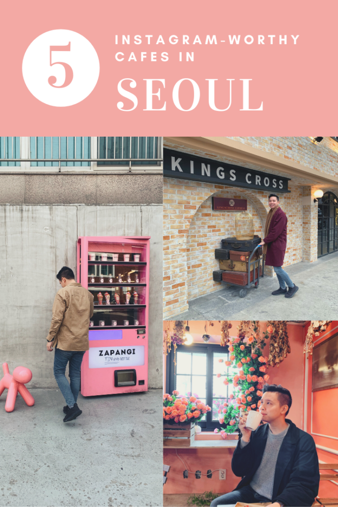 5 Instagram worthy cafes in Seoul.