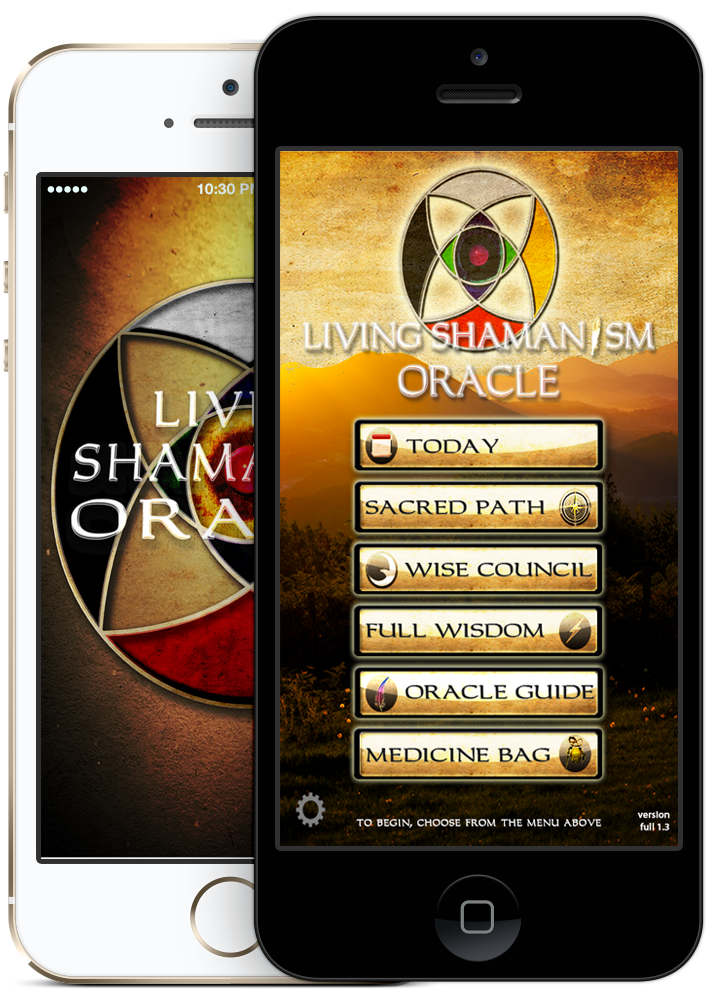 Living Shamanism Oracle App