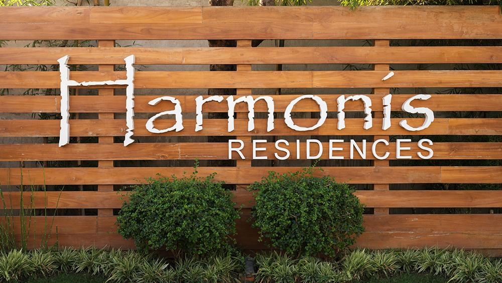 Harmonis Residences Entrance