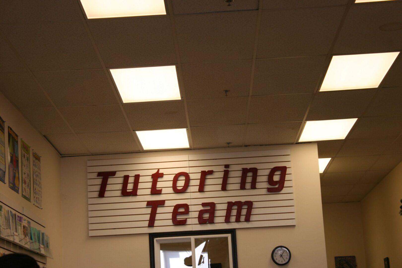 Rocklin's Tutoring Team