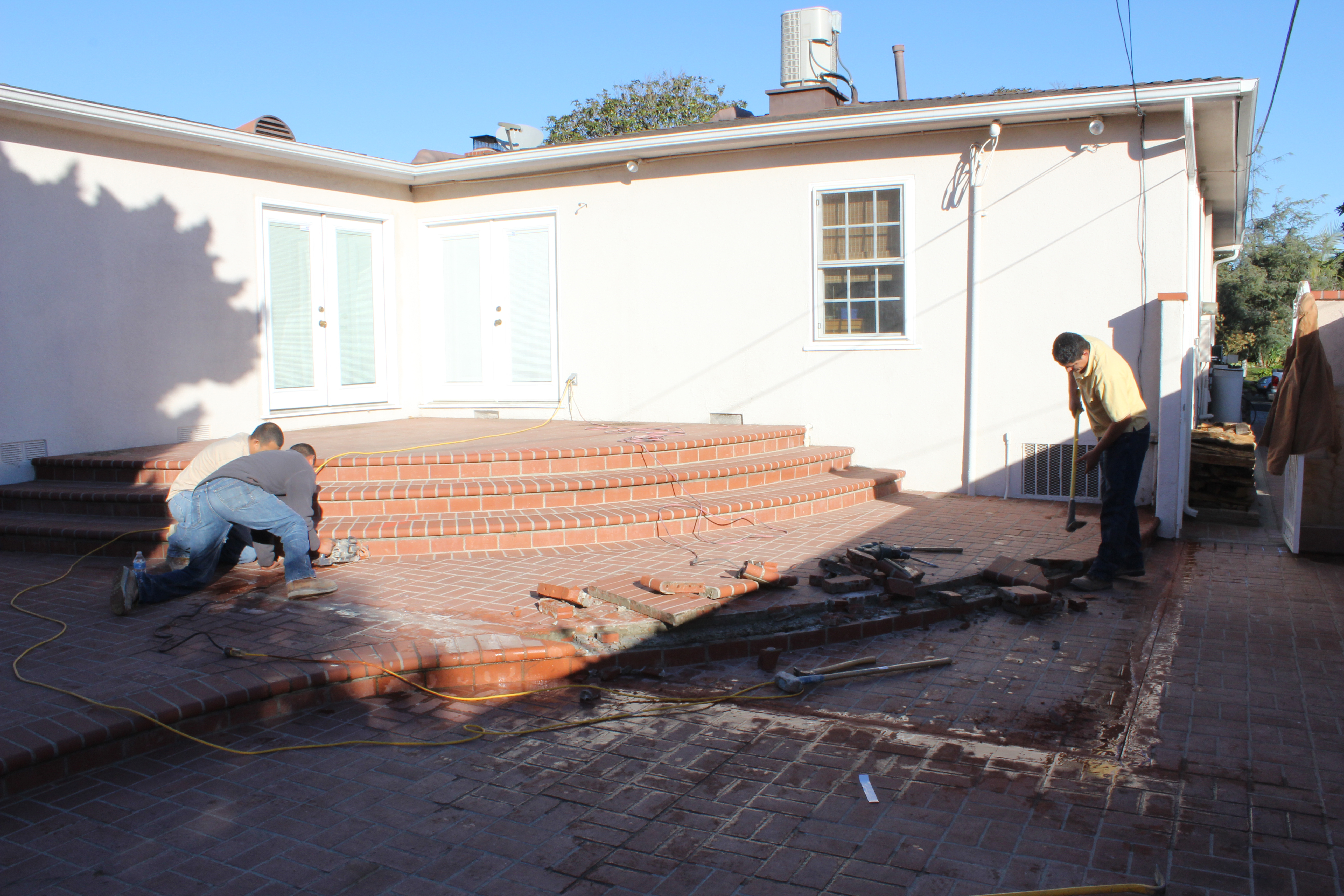 Room Addition in Woodland Hills Rough Build Phase