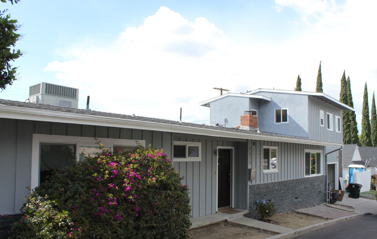 Garage Conversion and Second Story Addition in Woodland Hills