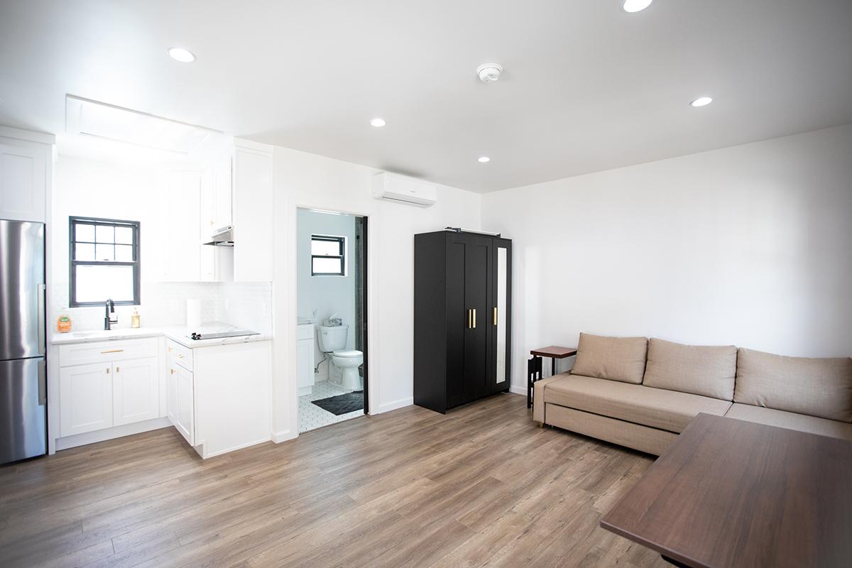Garage Conversion ADU Granny Suite in Sherman Oaks CA