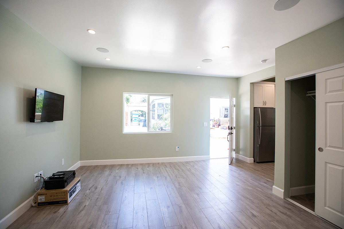 Garage Conversion ADU Rental Unit in Los Angeles CA