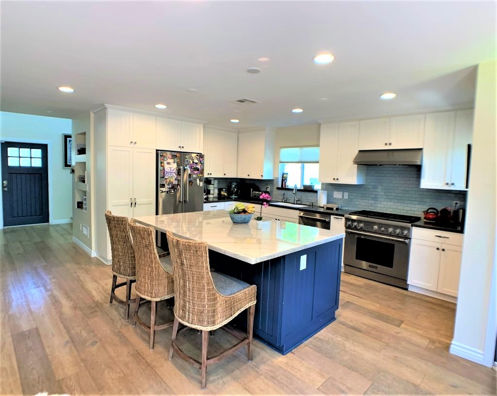 Beautiful Contemporary Kitchen Remodel in West Hollywood