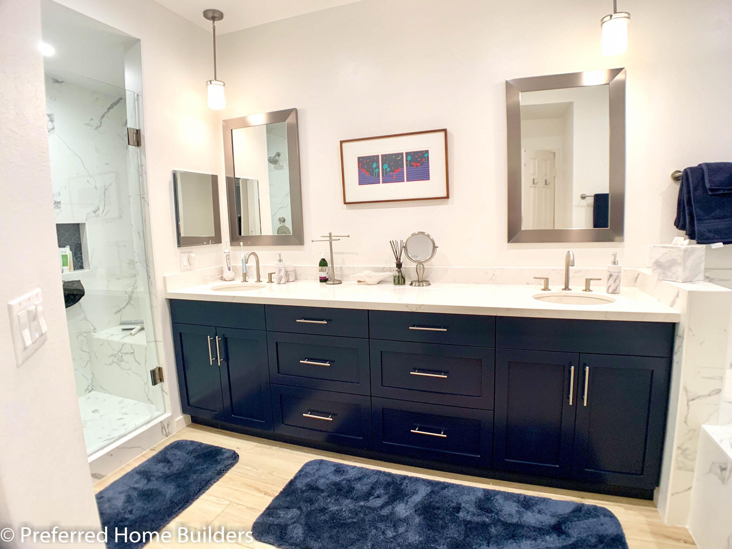Elegant Master Bathroom Remodel Marina Del Rey