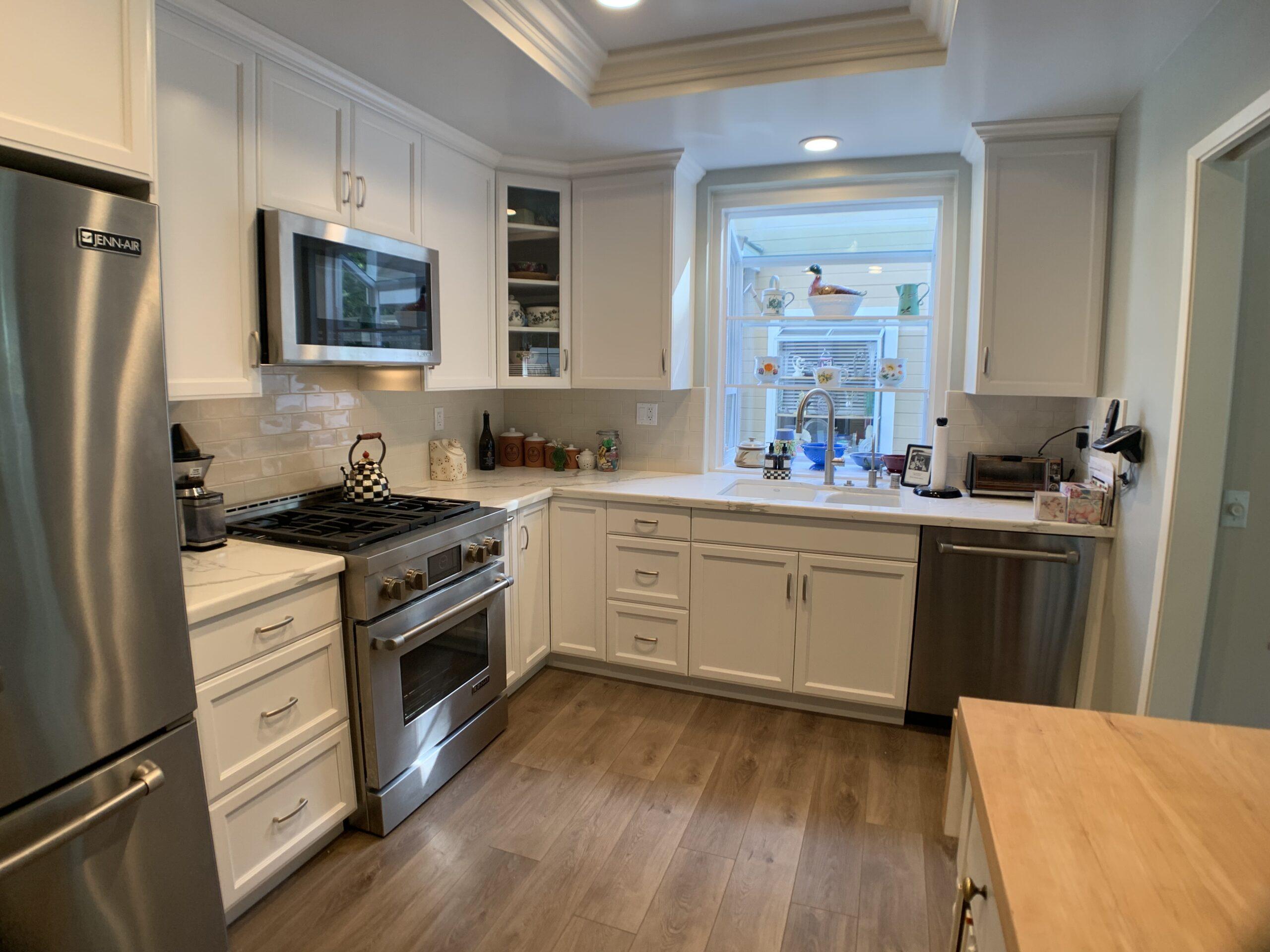 Modern Kitchen Remodel in Westlake Village CA