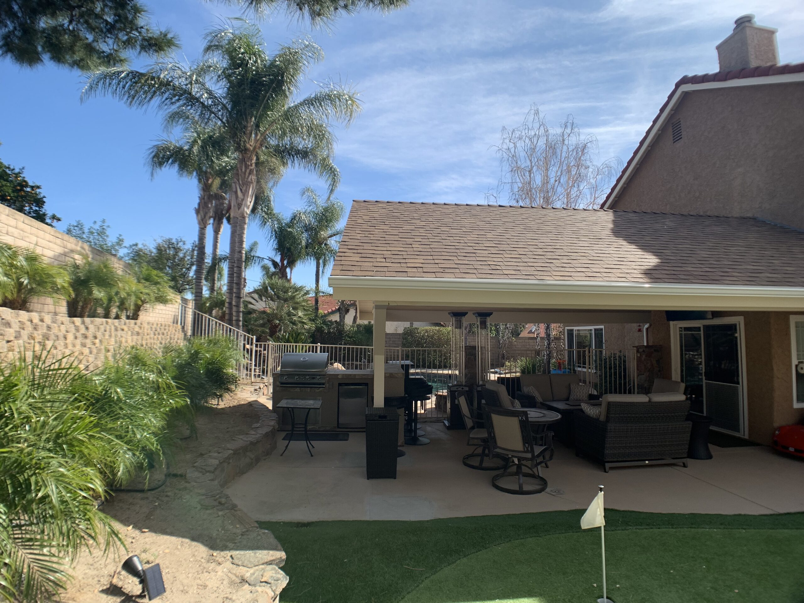 Patio Cover & Outdoor Kitchen Simi Valley CA