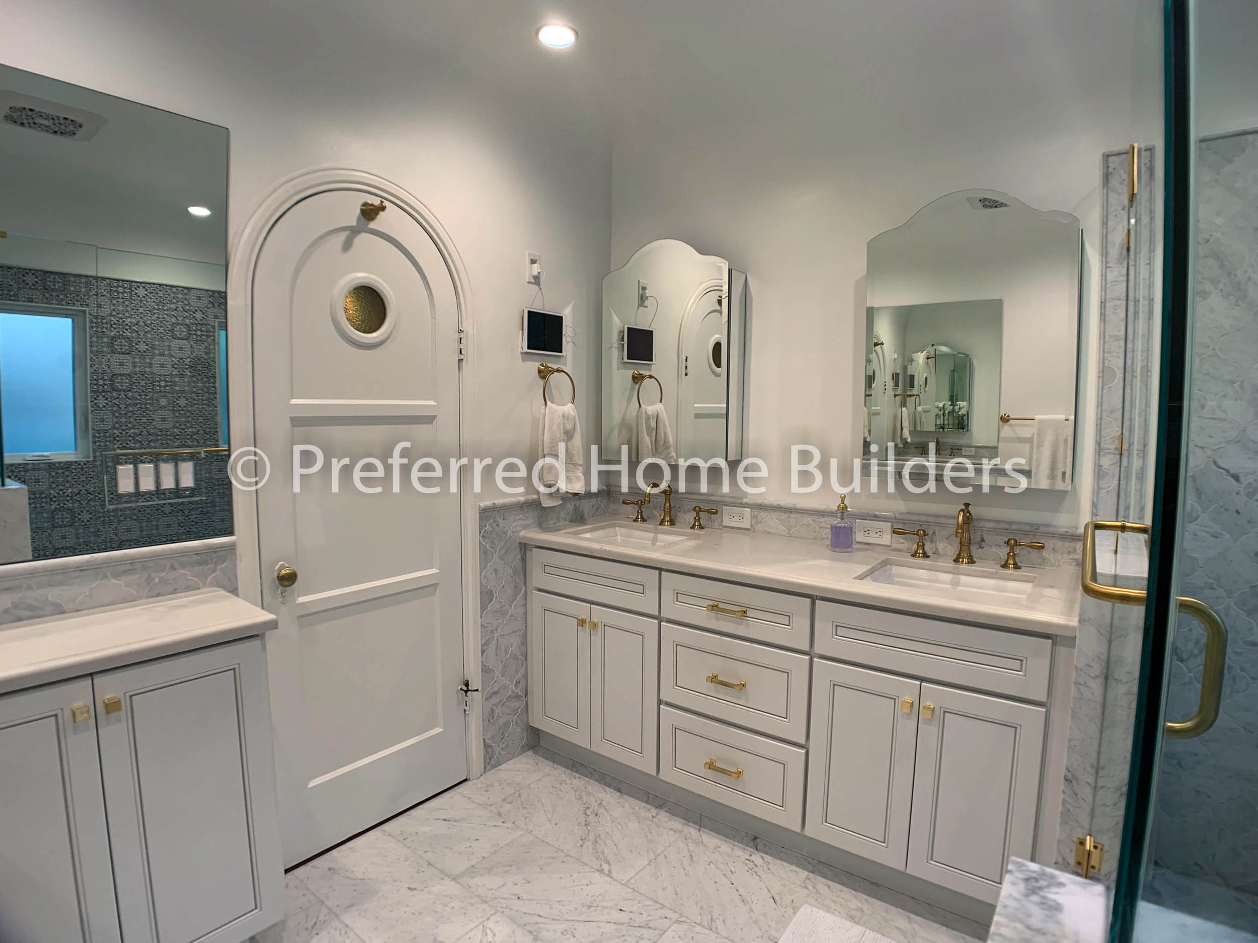 Guest & Main Bathroom Remodels in Beverly Grove CA
