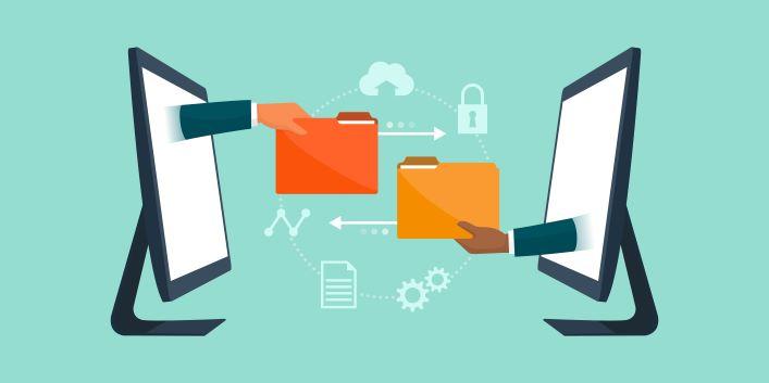 Screen sharing virtual meeting
