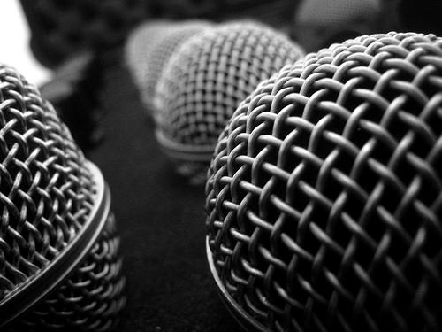 """""""No Sweat Public Speaking!"""" Microphones"""