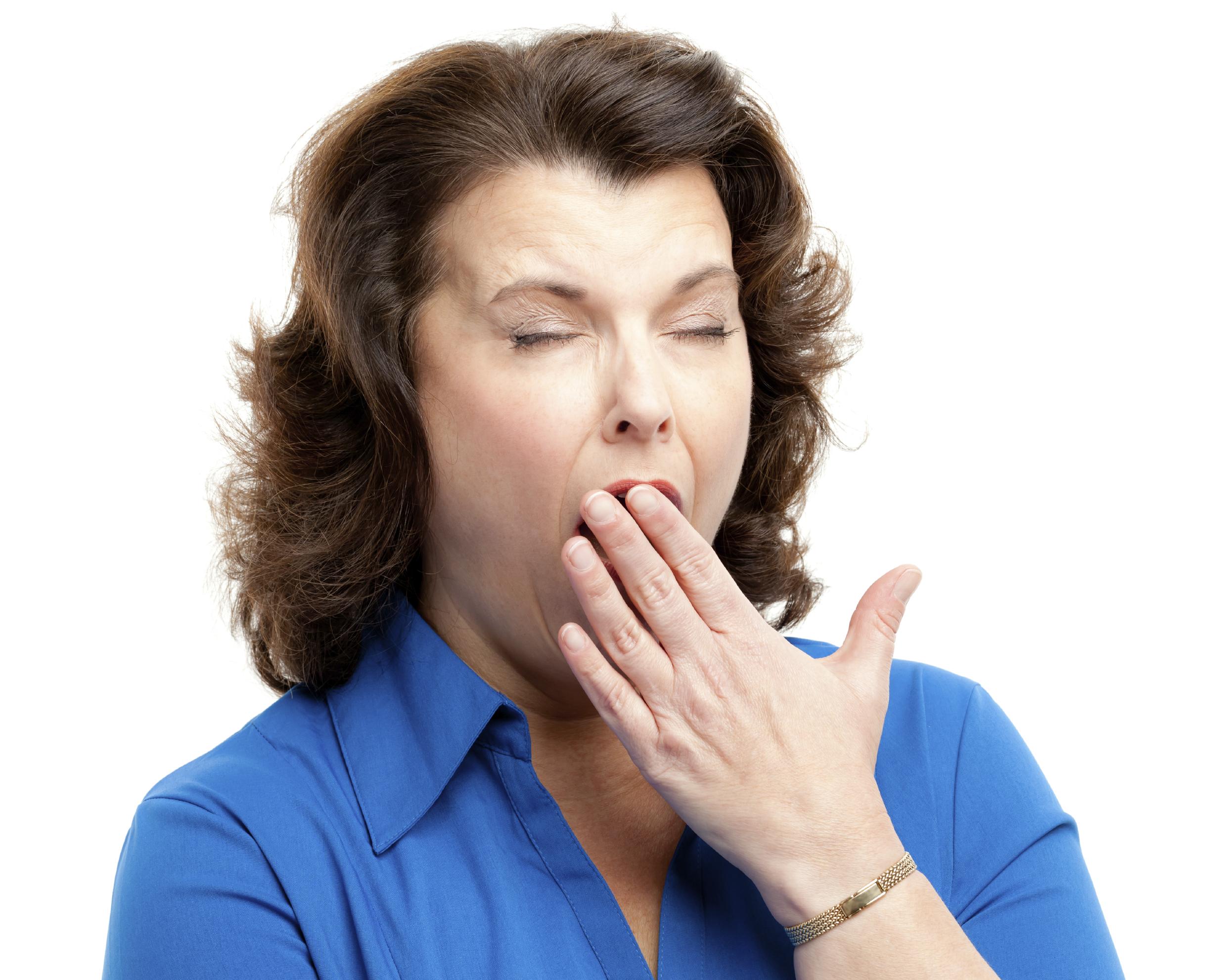 """No Sweat Public Speaking!"" Bored Lady"
