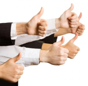 """""""No Sweat Public Speaking!"""" Thumbs Up!"""