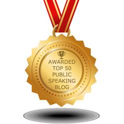 Top 50 Public Speaking Blogs