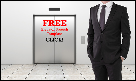 FREE Elevator Speech Template