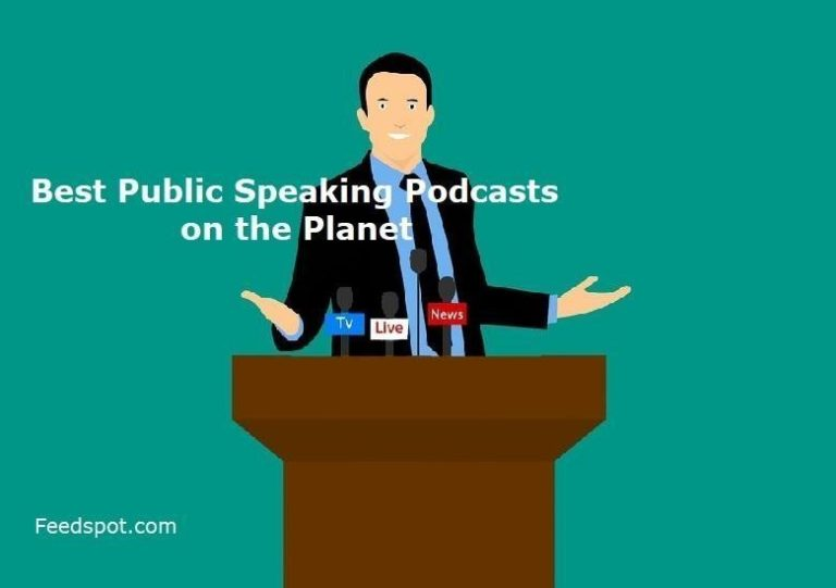 Proud to be in the Top 10 Public Speaking Podcasts!