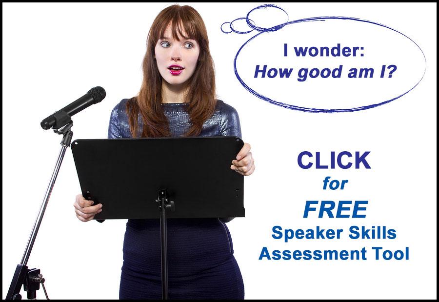 Speaker's Assessment Tool